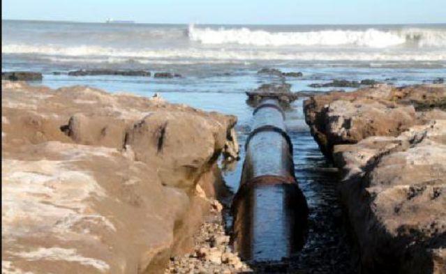 Punta Carballido, la gran contaminación