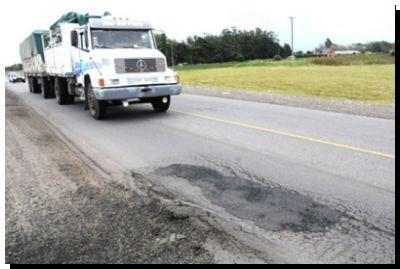 Piden mejoras para la ruta 88, por la que transitan unos 10.000 vehículos por día