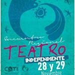 Comenzó el encuentro regional de teatro independiente