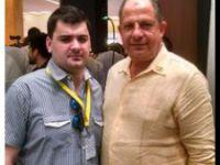 Con el Presidente de Costa Rica, Sr. Luis Guillermo Solís