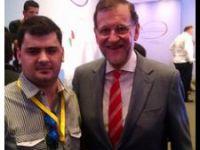 Con el Presidente del Gobierno de España, Dn. Mariano Rajoy