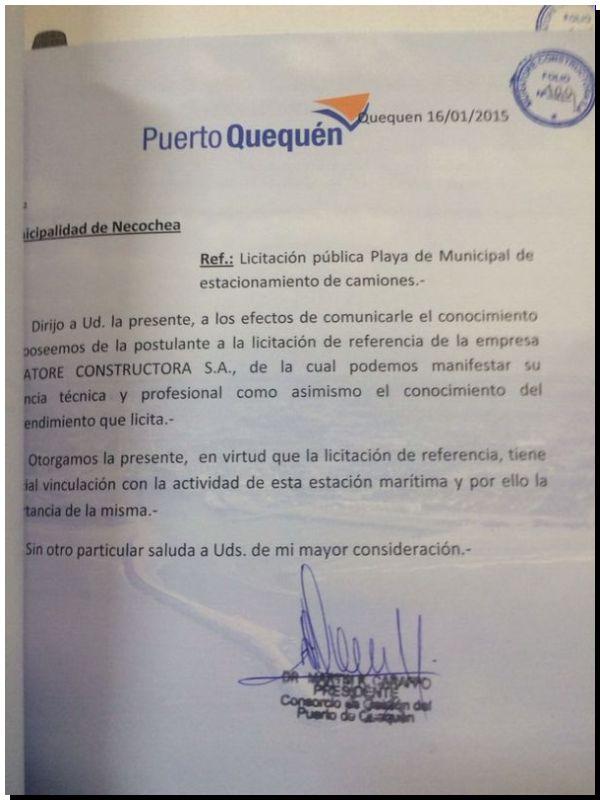 """NECOCHEA: Información sobre la licitación del """"Chiquero"""""""