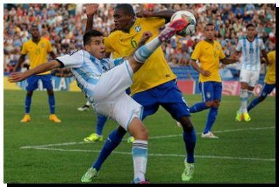 FÚTBOL: Argentina le ganó a Brasil