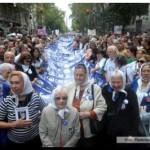 ACTO: Miles de personas marcharon a Plaza de Mayo a 39 años del golpe cívico-militar