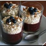 RECETAS ECOLÓGICAS: Batido de arándanos y fresas con copos de avena