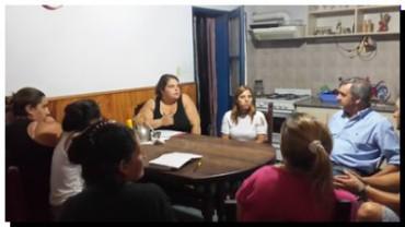 """ELECCIONES 2015: Dijo Ruggiero """"Juntos vecinos y municipio"""""""