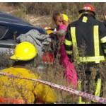 ACCIDENTE: Murió una mujer al despistarse un auto sobre la ruta 11