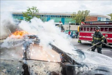 EEUU RACISMO: Violentos disturbios en Baltimore tras el funeral del afroamericano Freddie Grey