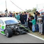 AUTOMOVILISMO: Un toque dejo a Franco sin final el domingo