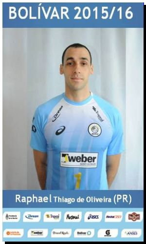 VOLEY: Raphael jugará en Bolívar otra temporada