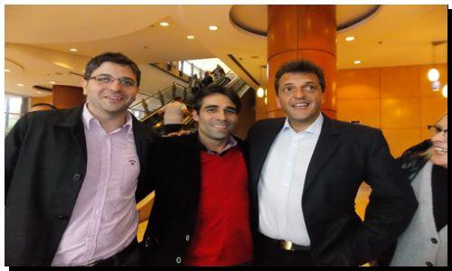 ELECCIONES 2015: López junto a Massa y de la Sota en el encuentro de dirigentes