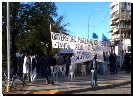 UNIVERSITARIOS: Duro comunicado de la Conadu histórica
