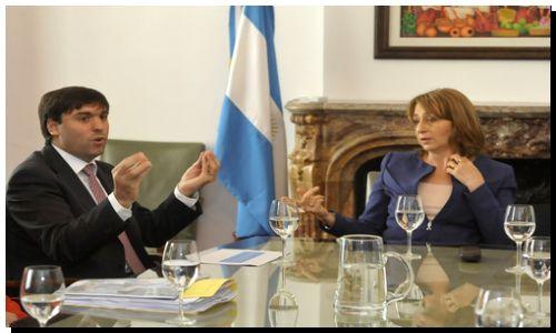 SEGURIDAD: Bossio y Gils Carbó definieron acciones para la prevención de delitos