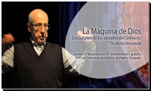 """CIENCIA: Conferencia """"La Máquina de Dios"""""""
