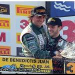 AUTOMOVILISMO: Juan de Benedictis ¡Nuevo triunfo en Top Race!