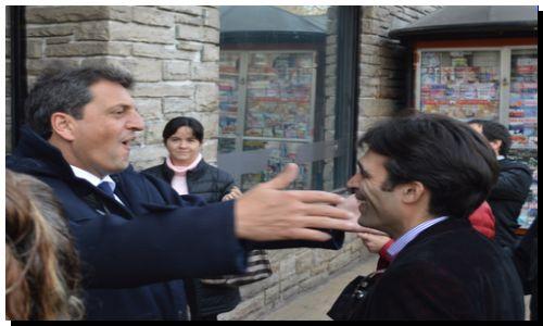 ELECCIONES 2015: López y Massa en Mar del Plata.