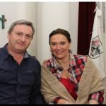 ELECCIONES 2015: Leo Ruggiero con Gabriela Michetti y Alfredo De Angelis