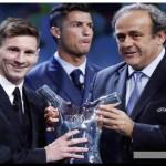 DEPORTE: Messi fue distinguido por la UEFA como el mejor jugador de Europa