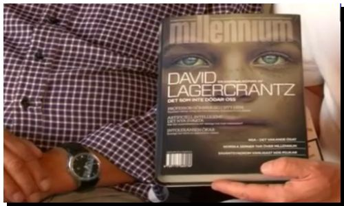 """CULTURA: El cuarto libro de la saga """"Millenium"""" ya está en las librerías"""