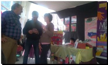 ELECCIONES 2015: Facundo López visitó la Feria del Libro y de las Artes