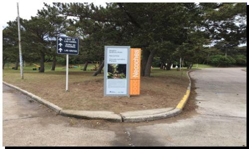 NECOCHEA: Moderna cartelera financiada por el Ministerio de Turismo de Nación