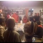 ELECCIONES 2015:López junto a vecinos con problemas anegamientos de calles y luminarias