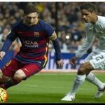 ESPAÑA: Messi reapareció en la goleada del líder Barcelona en el Bernabéu