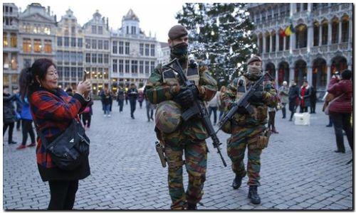 BÉLGICA: Detenidos dos sospechosos de planificar un atentado en fin de año