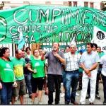 ATE presentó una medida cautelar por la plena vigencia de la ley de paritarias municipales