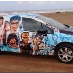 FÚTBOL: Belgrano tiene su auto propio en Necochea