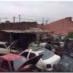 POLICIALES: Allanamientos en desarmadores de autos
