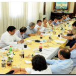 SEGURIDAD: Ritondo recibió a intendentes Quinta Sección Electoral