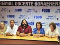DOCENTES: Piden paritarias a Kicillof