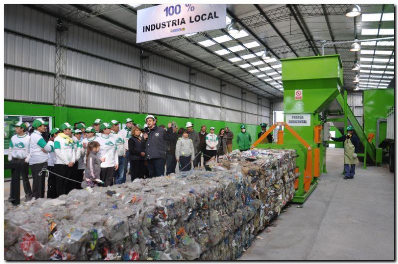 Necochea presente en inauguración de la planta de separación de residuos en Tres Arroyos