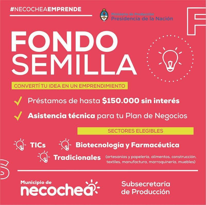 Hoy charla con emprendedores sobre aplicación a Fondo Semilla