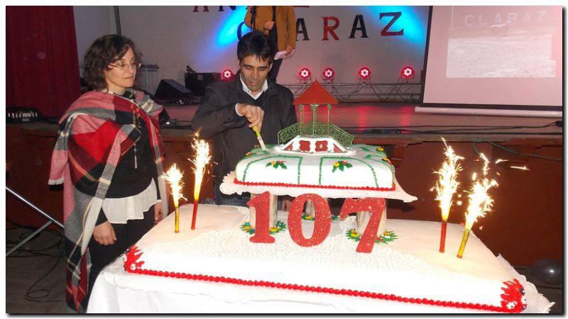 López encabezó el acto protocolar por los 107 años de Claraz