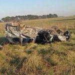 Una quequenense murió en la Ruta 88. Una beba de 4 meses muy grave