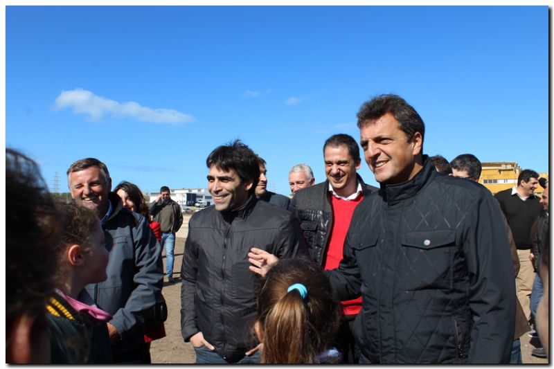 Massa apoyó en Necochea la gestión de Facundo López