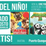 Puerto Quequén festeja el Día del Niño con el mejor Cine Infantil
