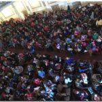 Puerto Quequén festejó el Día del Niño con un cine París a sala llena