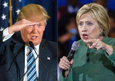 Hillary y Trump, los candidatos más ancianos
