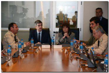 El Jefe de gabinete visitó la Prefectura