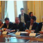 Facundo López firmó en Casa Rosada acta con Ministerio de Turismo de La Nación