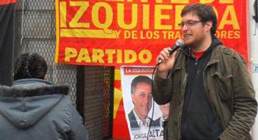 Guillermo Kane, diputado del Frente de Izquierda en Necochea
