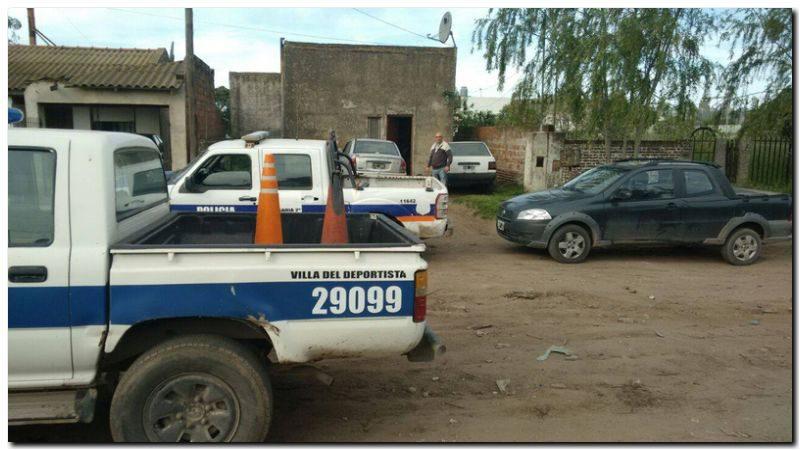 Allanamiento por robo de automóviles con resultado positivo. Se encontraron armas