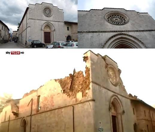 Otro fuerte temblor en Italia central