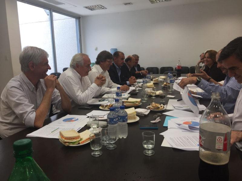 CARBAP se reunió con legisladores provinciales del Frente Renovador en La Plata