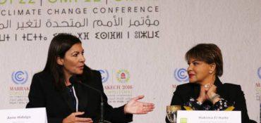 Mujeres alcaldesas unidas para salvar al planeta