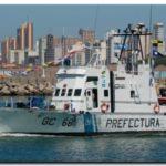 Cambio de capitán del Guardacostas P.N.A. Río Paraguay de la Prefectura Quequén