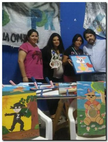 Internos de la Unidad 15 de Batan donan juguetes